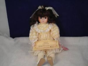 Brinns Collectible Edition Doll w Yellow Dress 1986