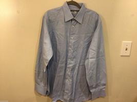 Brioni Light Blue Classic 100% Cotton Dress Shirt, NO Size tag