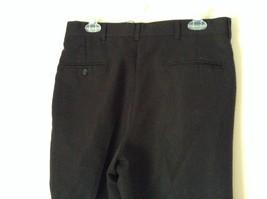 Black Pleated Dress Pants by Haggar No Size Tag Measurements Below image 6