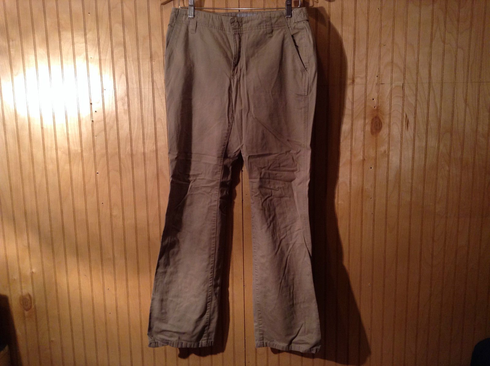 Brown Casual Pants by Liz Claiborne Front Back Pockets Good Condition Size 6