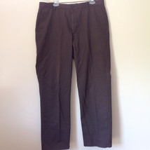 Brown Casual Pants by DOCKERS 100 Percent Cotton Size 36 by 32