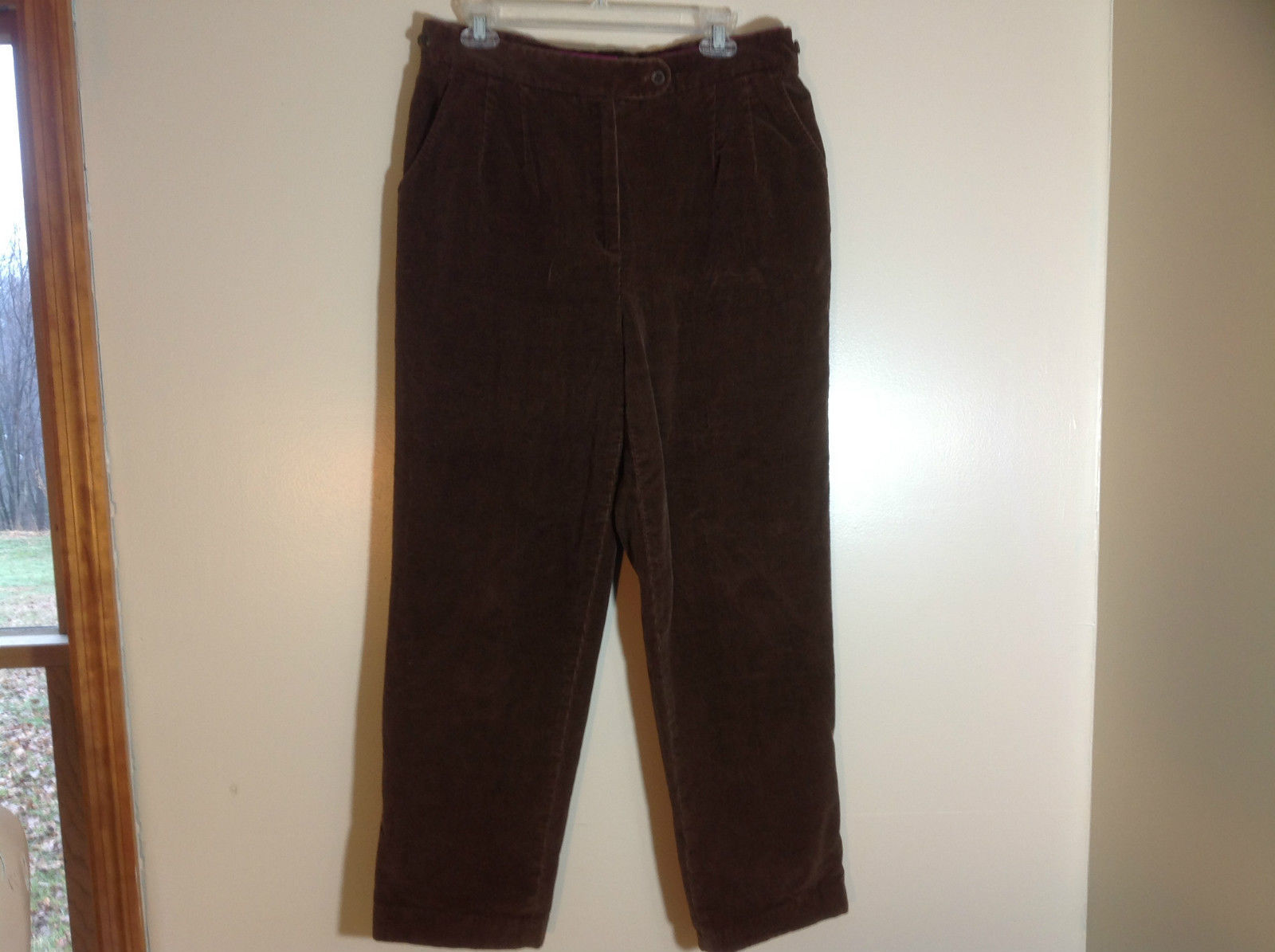 Brown Corduroy Harve Benard Pants Size 16