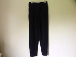 Black Pleated Elastic Waist Work Casual Pants by Jennifer Moore Size 10 image 6