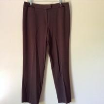 Brown Dress Pants by Pendleton Polyester Rayon Spandex Size 14