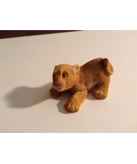 Brown Textured Baby Lion Figurine Display Decoration - $39.99