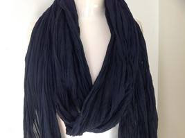 Black Scrunched Beaded Scarf Made in India Indian Style Beads for Tassels image 2