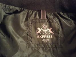 Black Size S Petite Express Warm Vest Zipper Closure Four Front Pockets image 5