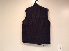 Black Size S Petite Express Warm Vest Zipper Closure Four Front Pockets image 2
