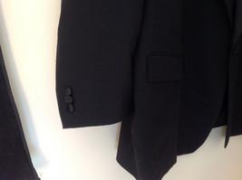 Black Suit Jacket by Vit Tario Vasari Single Button Inside Pockets Size 52R image 4