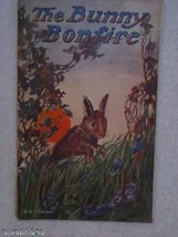 Bunny Bonfire early American children's book for Easter