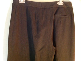 Black Talbots Stretch Pants Size 10 Zipper and Button Closure One Back Pocket image 4