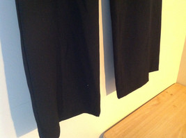 Black Tie Belt Casual Pants Zipper Button 2 Clasp Closure Geoffrey Been Size 4S image 4