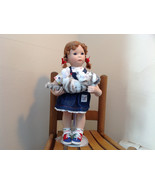 Can I Keep Her? Doll by Donna RuBert Porcelain 16 Inches Tall on Stand w... - $940.50