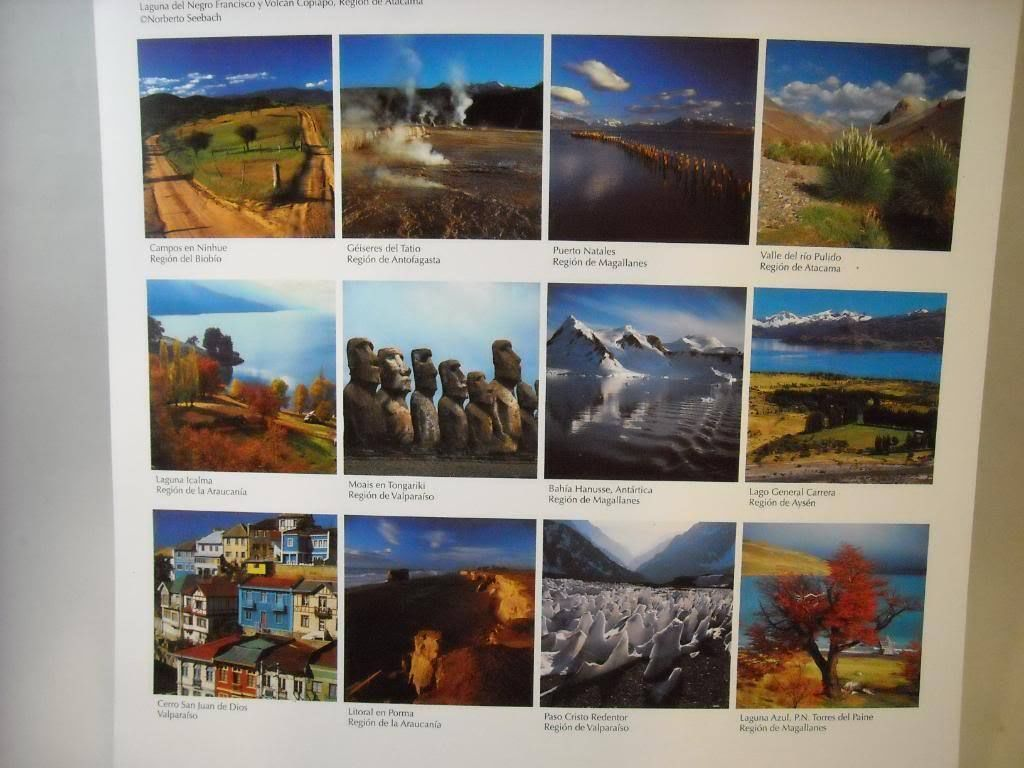 Calendar Pictures of Chile by Norberto Seeback