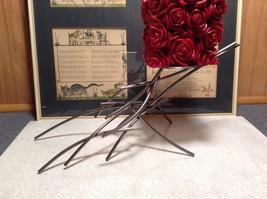 Candle Stand Girardini Steel Handmade Artistic Welded Art Artisan
