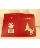 Canine Gift Greeting Card  DOG IS GOOD Aim High - $3.25