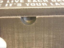 Black Wooden Storage Trinket Box  Dance Like No One is Watching Saying image 4