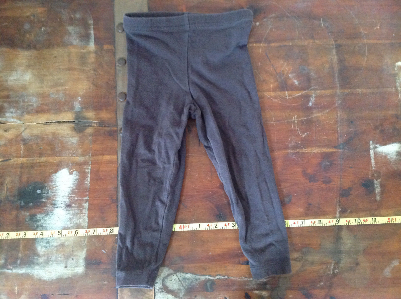Carters Brown Infant Leggings Elastic Waist Size 18 Months