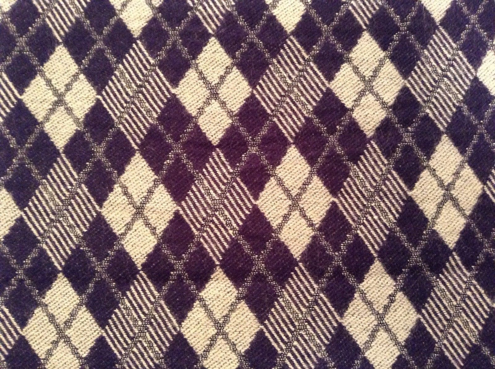 Cashmere feel soft warm  scarf in argyle diamond choice of color