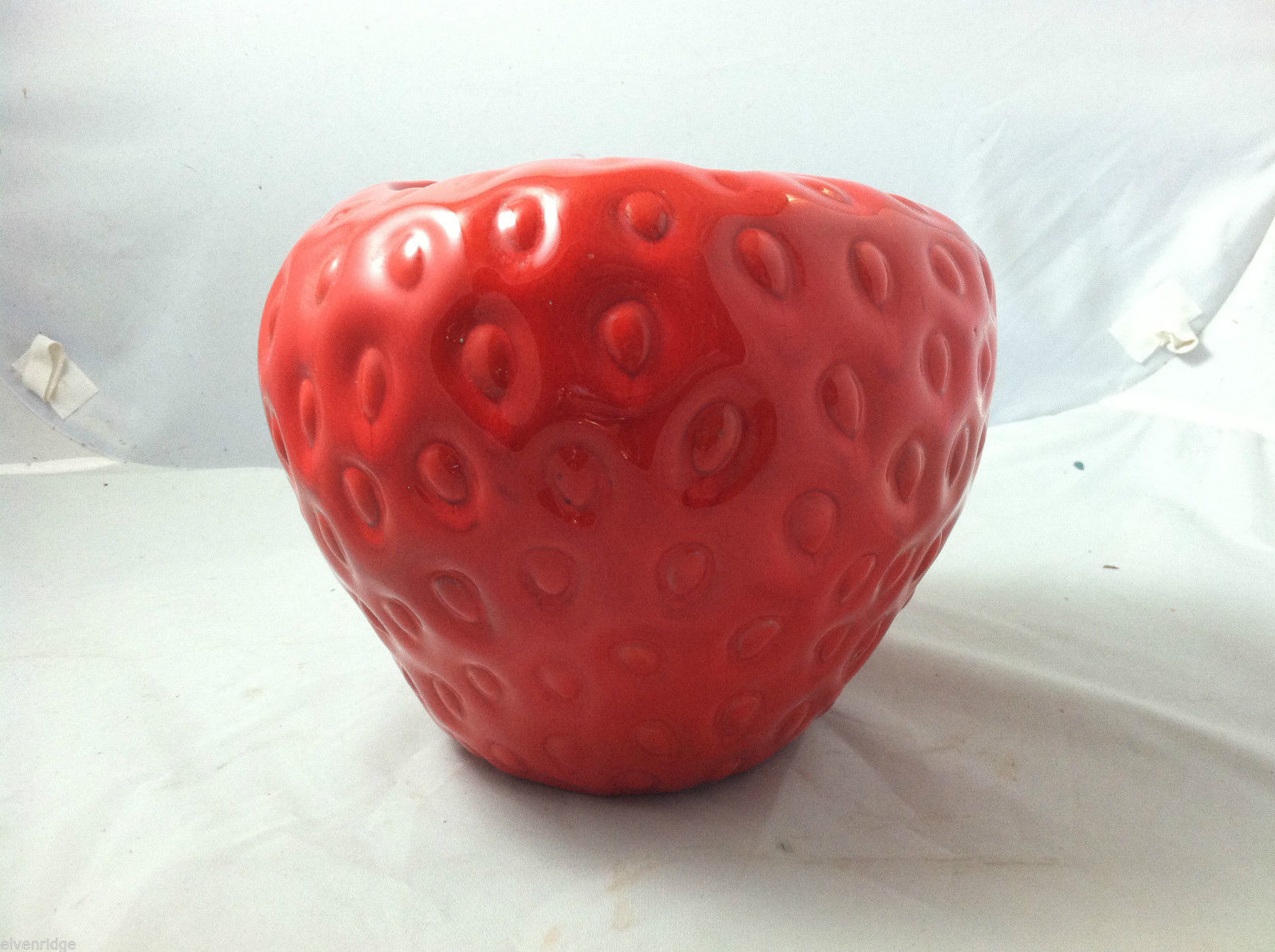 Ceramic Strawberry Canister/Planter
