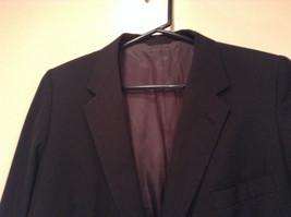 Black with Light Stripes Steffano Barneys New York Suit Jacket Blazer No Tag image 2