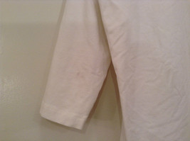 Blanca White Top Decoration on Front Scoop Neck No Tag Measurements Below image 3