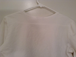 Blanca White Top Decoration on Front Scoop Neck No Tag Measurements Below image 4
