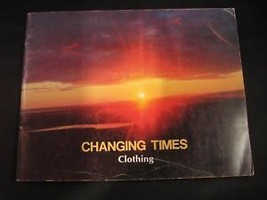 Changing Times Clothing Cree English French book 1985