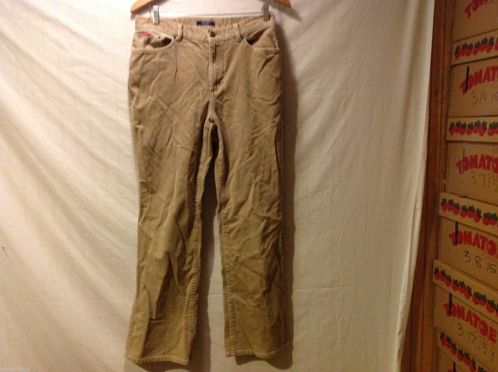 Chaps Womans Tan Corduroy Pants