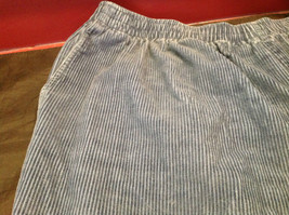 Blue Corduroy Alfred Dunner Ladies Pants Size 22W image 3