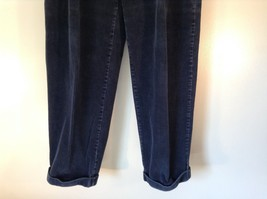 Blue Corduroy GAP Easy Fit Pants Size 34 by 30 Great Condition image 2