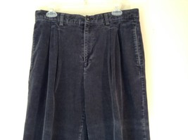 Blue Corduroy GAP Easy Fit Pants Size 34 by 30 Great Condition image 3