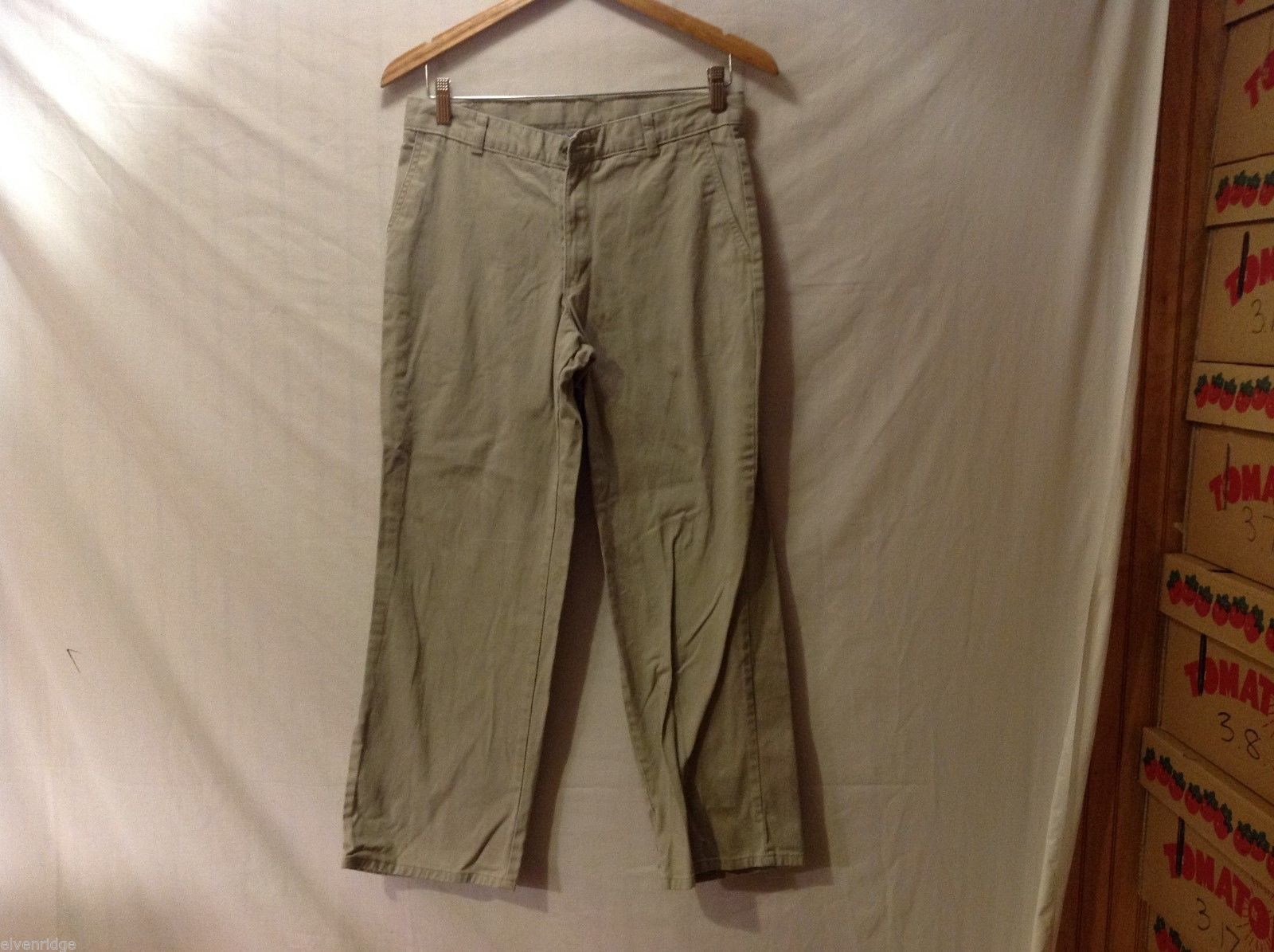 Chaps Boys Tan Pants, Size 16