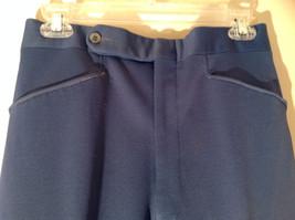 Blue Four Pocket Graham and Gunn LTD Dress Pants Zip Clasp Button Closure image 4