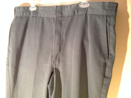 Blue Green Dickies Casual Pants Size 40 by 30 Good Condition Made in USA image 2