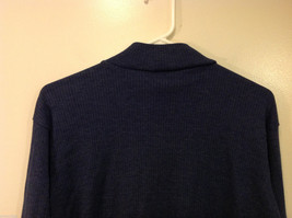 Bobbie Brooks Dark Blue Turtleneck Sweater, Size L (12/14) image 6