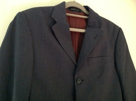 Blue Pin Striped Matching Jacket and Pants by Mossimo See Measurements Below image 2