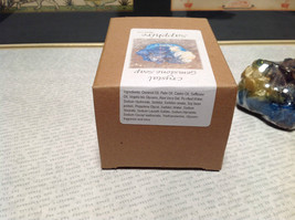 Blue Sapphire Handmade  Crystal Gemstone Soap image 7