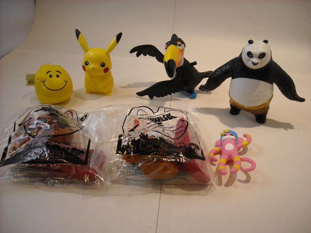 Child Toy Movie Collection, Kung Fu Panda, Pokemon pikachu Madagascar