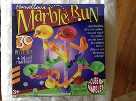 Children's fun and educational 30 Piece Marble Run Construction Toy