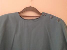 Blue Teal Checkered Patterned Matching 3 Piece Scarf  Skirt Set Size M Pendleton image 3