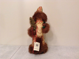 Christopher Radko Santa Gift Bag Christmas Tree Figure signed numbered vintage