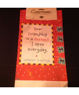 Christmas Kitchen Towel Fiddlers Elbow Card Towel Your Friendship is a P... - $39.99