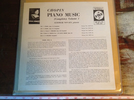 Chopin Piano Music Complete Volume 1 Pianist Guiomar Novaes Three Vinyl Records