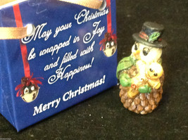 Christmas Snowman w gingerbread cookie perfect gift 4 shut ins elderly person