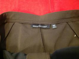 Briggs New York Ladies Long Brown Pants Size 18S image 2