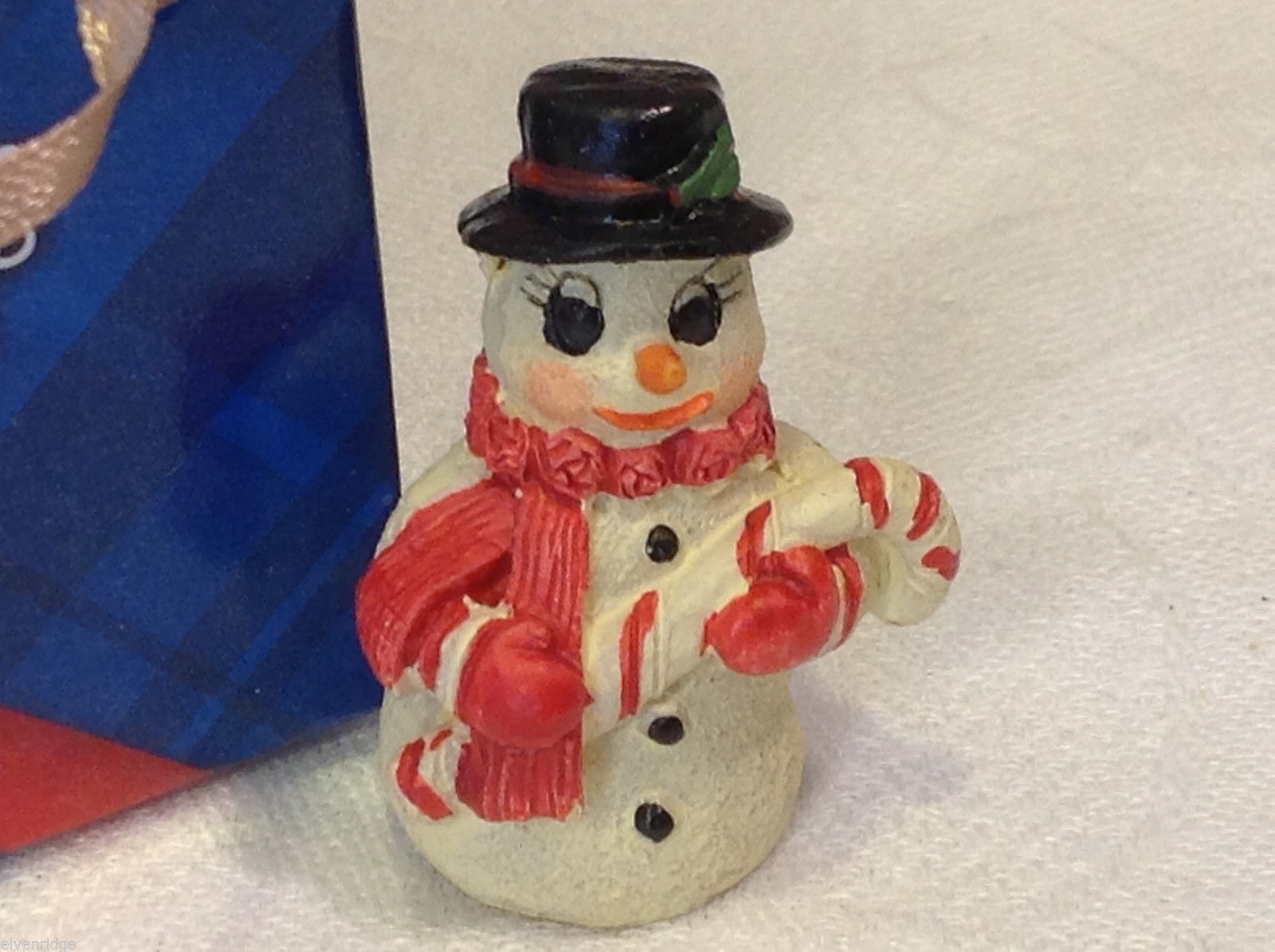 Christmas bag Snowman w candy cane perfect gift 4 shut ins elderly person