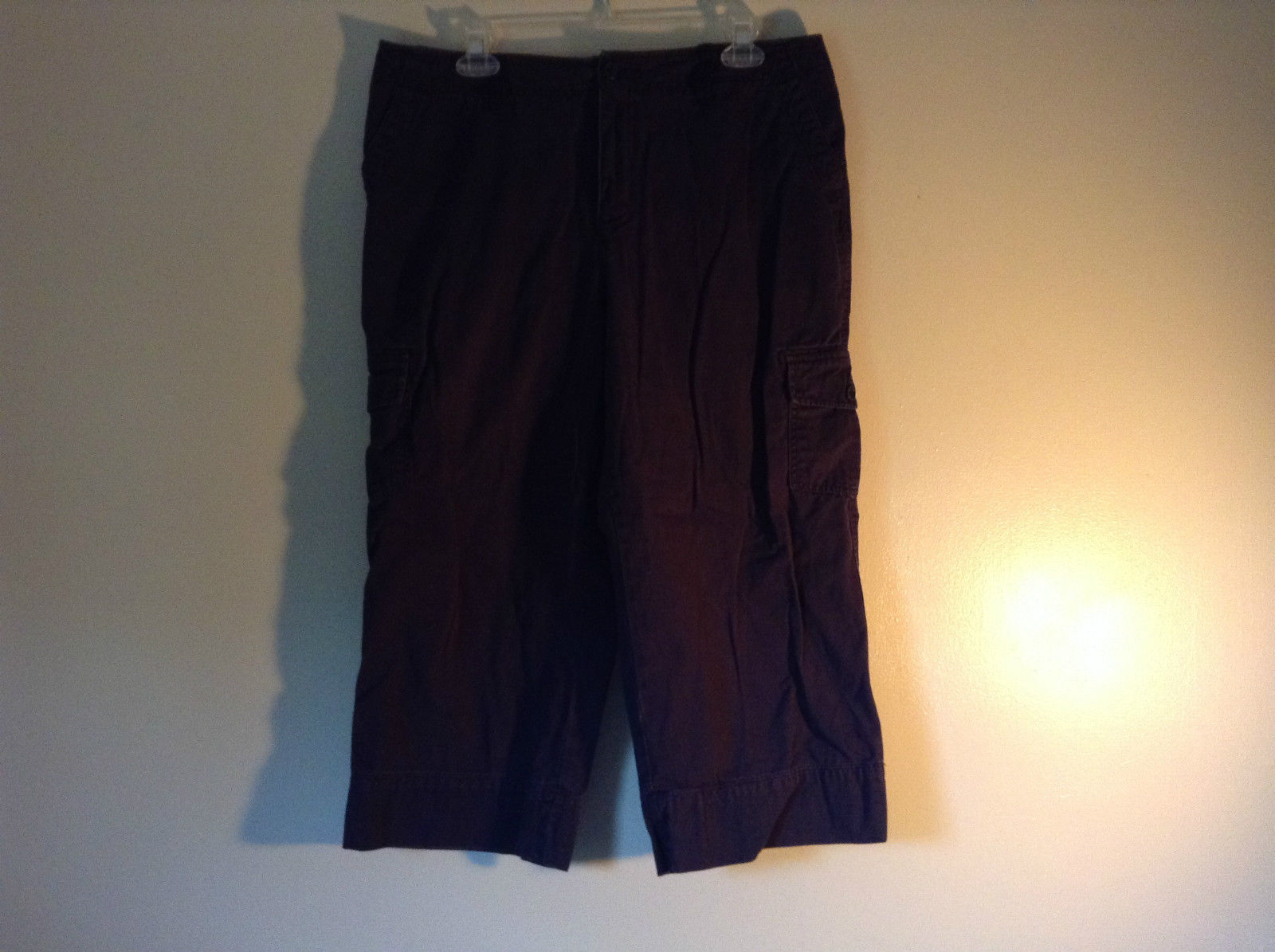 Classic Elements Navy Blue Size 14 Capris 100 Percent Cotton