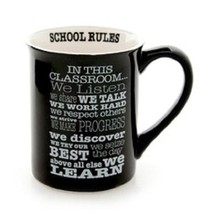 Classroom Rules We listen we learn High School College graduate teacher gift