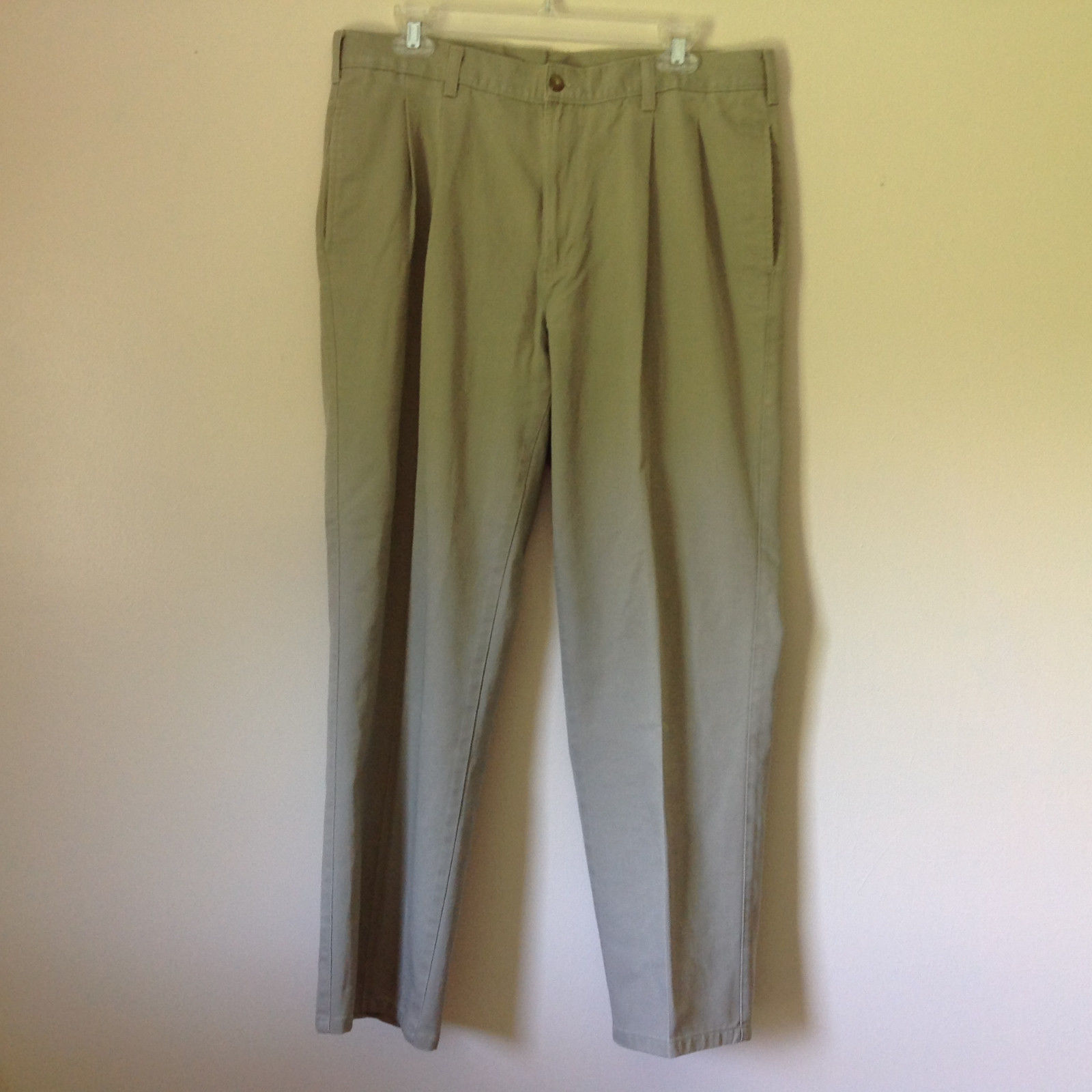 Claybrooke 100 Percent Cotton Khakis Long Pants Measurements Below